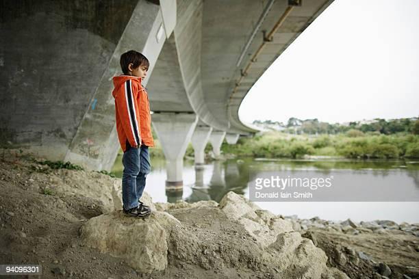 Standing under the bridge