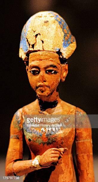 Standingstriding figure of Akhenaten or Tutankhamen