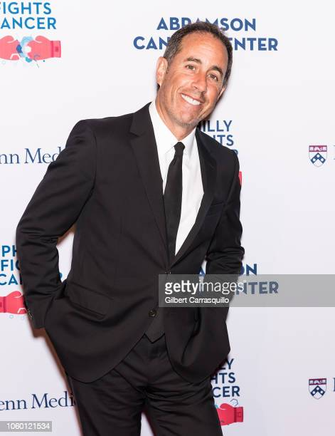 Stand-up comedian and actor Jerry Seinfeld attends the Philly Fights Cancer: Round 4 at The Philadelphia Navy Yard on November 10, 2018 in...