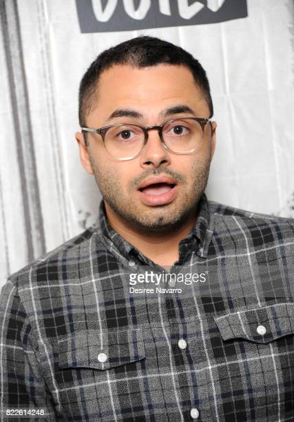 Standup Comedian and actor Joe Mande attends Build to discuss his new special 'Joe Mande's AwardWinning Comedy Special' at Build Studio on July 25...