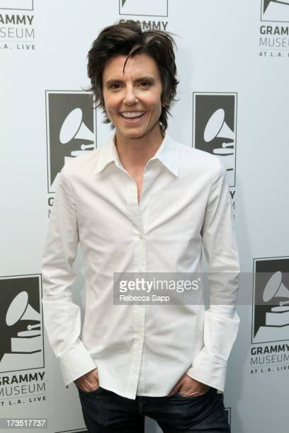 Standup comic Tig Notaro at The Drop Tig Notaro at The GRAMMY Museum on July 15 2013 in Los Angeles California