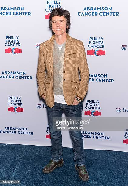 Standup comic writer radio contributor actress Tig Notaro attends Philly Fights Cancer Round 2 at Legacy Youth Tennis Organization on October 15 2016...