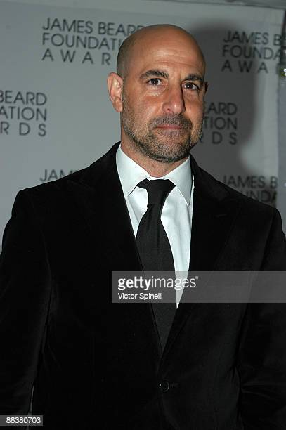 Stanely Tucci attends the 2009 James Beard Foundation Awards Ceremony and Gala at Avery Fisher Hall at Lincoln Center for the Performing Arts on May...