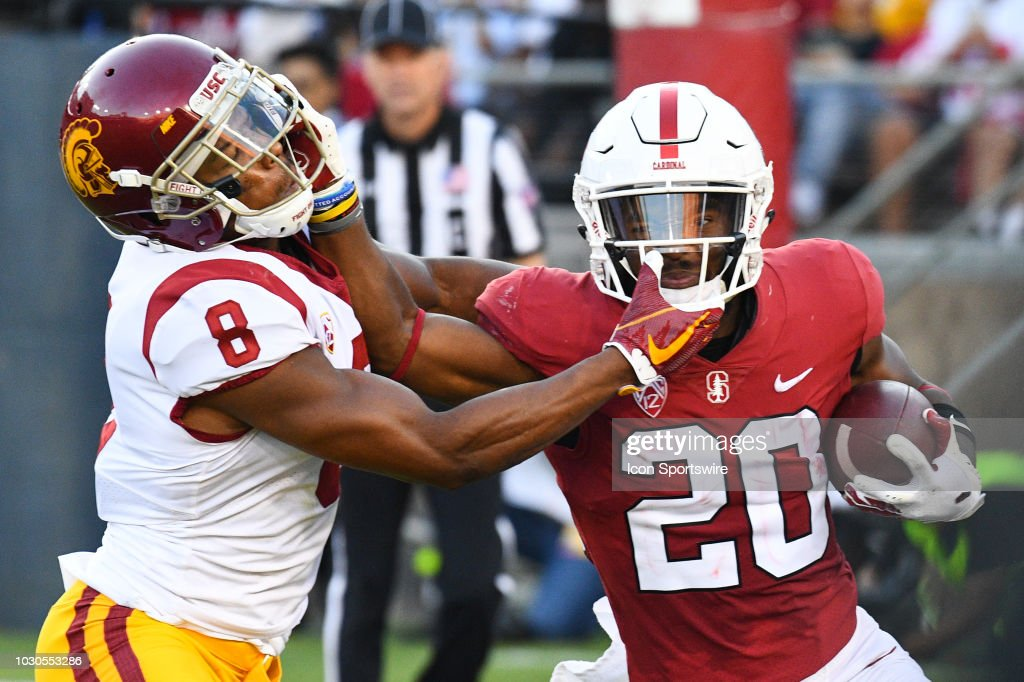 COLLEGE FOOTBALL: SEP 08 USC at Stanford : News Photo