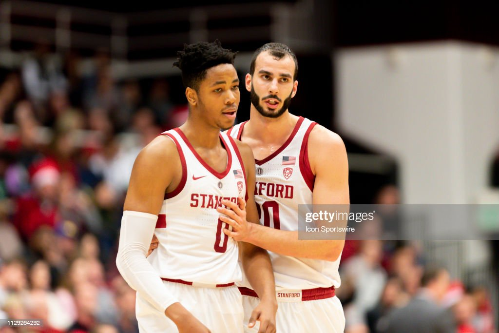 COLLEGE BASKETBALL: MAR 07 Cal at Stanford : News Photo