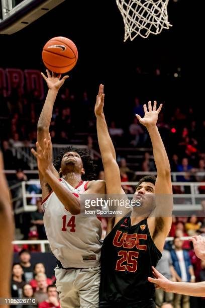 Stanford Cardinal guard Marcus Sheffield during the men's college basketball game between the USC Trojans and Stanford Cardinal on February 13 2019...