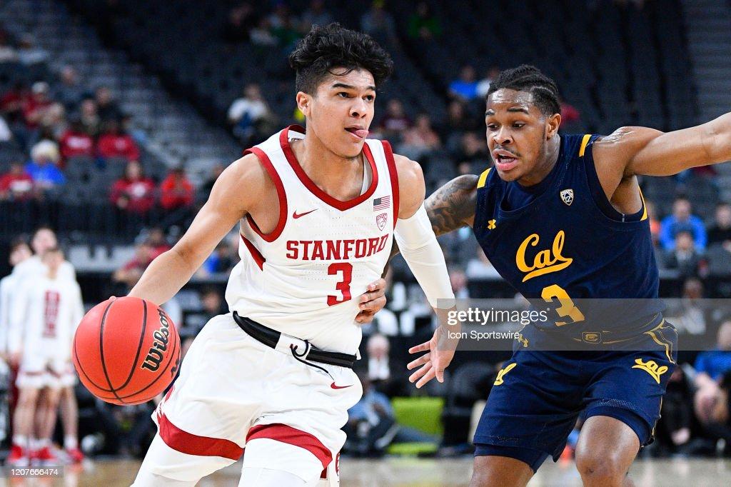 COLLEGE BASKETBALL: MAR 11 Pac-12 Tournament - California v Stanford : News Photo