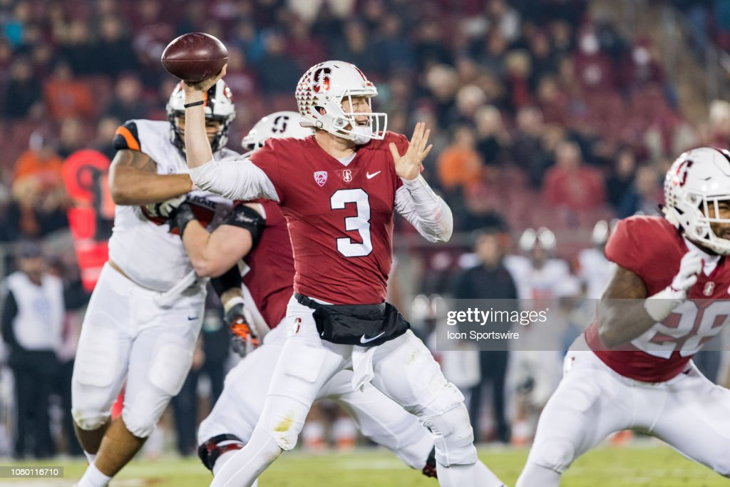 COLLEGE FOOTBALL: NOV 10 Oregon State at Stanford : News Photo