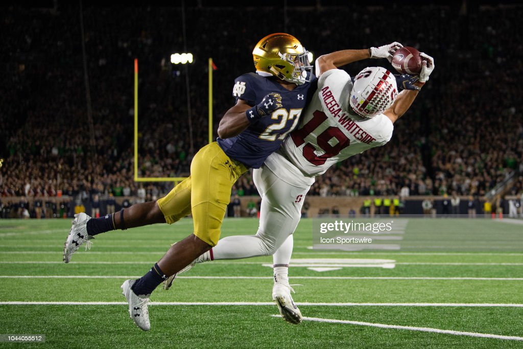 COLLEGE FOOTBALL: SEP 29 Stanford at Notre Dame : News Photo