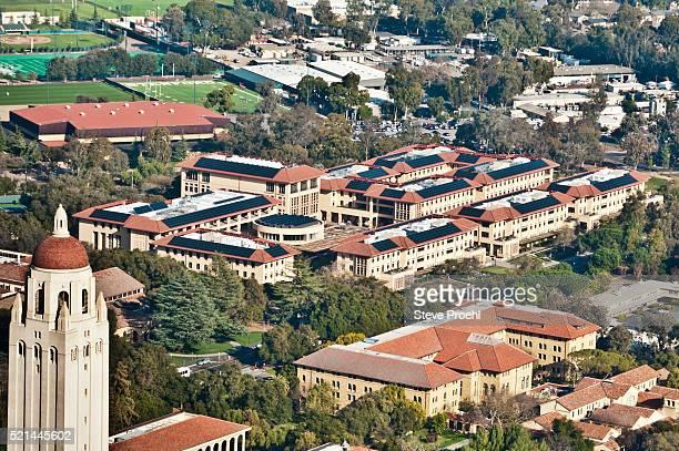 stanford graduate school of business - stanford universiteit stockfoto's en -beelden