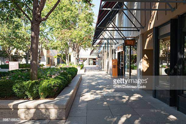 Stanford Shopping Center, a popular luxury shopping mall in the Silicon Valley town of Palo Alto, California, August 25, 2016. .
