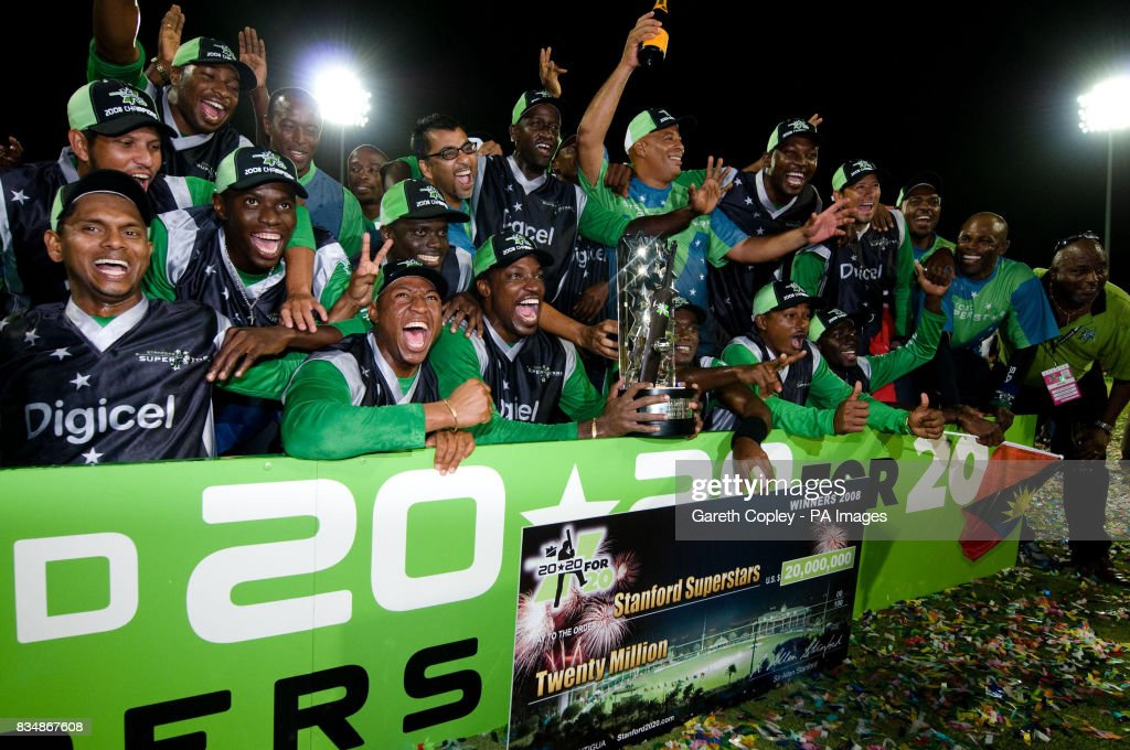 Stanford Superstars celebrate beating England in the