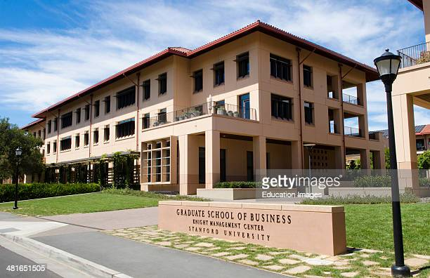 Stanford University in California Graduate School of Business at Knight Management Center education CA