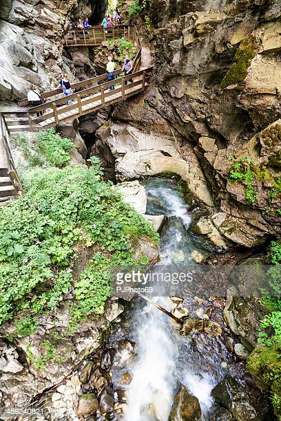 stanghe waterfalls - racines - pjphoto69 stock pictures, royalty-free photos & images