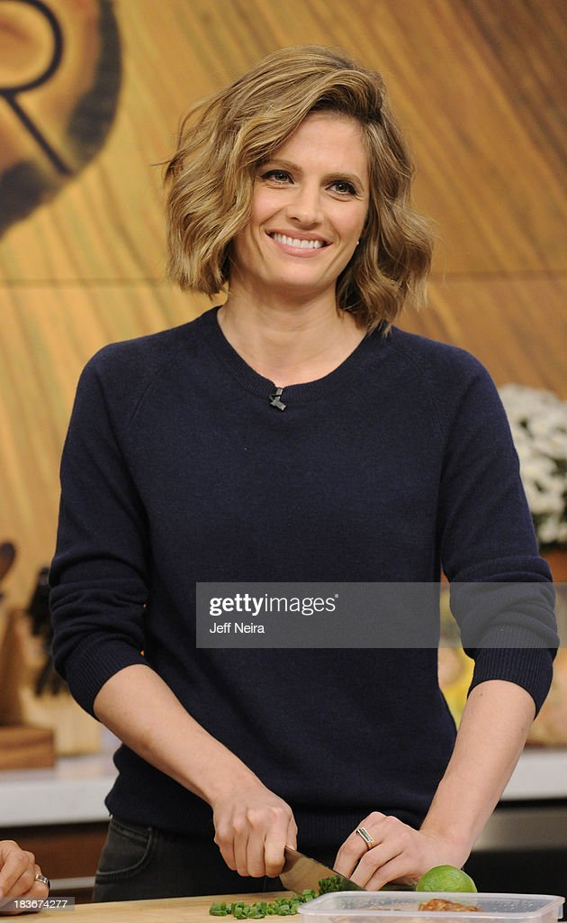 THE CHEW - Stania Katic (ABC's 'Castle') is the guest today Tuesday, October 8, 2013 on ABC's 'The Chew.' 'The Chew' airs MONDAY - FRIDAY (1-2pm, ET) on the ABC Television Network. KATIC