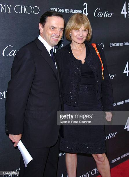 Stanislas de Quercize and Anne McNally during Celebration of 4 Inches at The Cartier Mansion at The Cartier Mansion in New York City New York United...