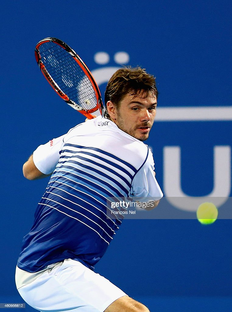 Mubadala World Tennis Championship - Day One : News Photo