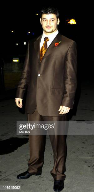 """Stanislav Ianevski during """"Harry Potter and the Goblet of Fire"""" World Premiere - After Party at Natural History Museum in London, Great Britain."""