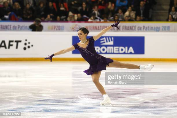 Stanislava Konstantinova of Russia during the French Internationals of Grenoble on November 24 2018 in Grenoble France