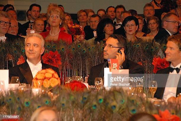 Stanislaw Tillich Ehefrau SE Khaldoon Khalifa Al Mubarak Laudator Jens Lehmann Dr 7 Semper Opernball Semperoper Dresden Sachsen Deutschland Europa...