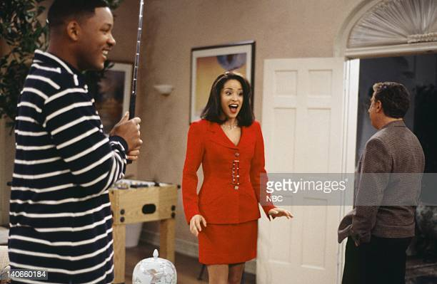 AIR THE 'I Stank Hole in One' Episode 21 Pictured Will Smith as William 'Will' Smith Karyn Parsons as Hilary Banks Photo by Joseph Del Valle/NBCU...