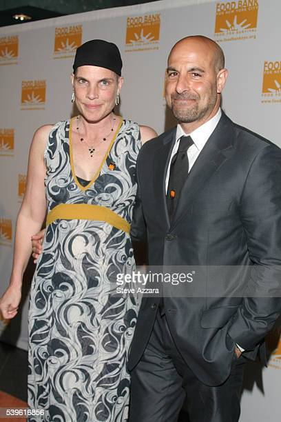 Stanlet Tucci and Kate Tucci attend the 2007 Food Bank of New York City's Annual CanDo Awards Dinner