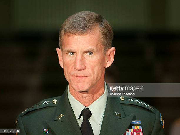 Stanley A McChrystal commander of the International Security Assistance Force ISAF