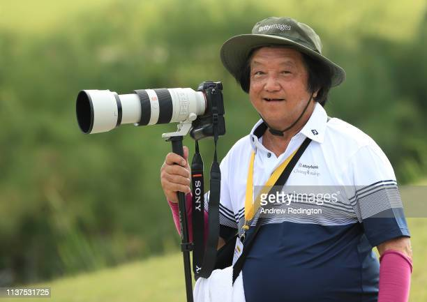 Stanley Chou Getty Images photographer in action on Day Two of the Maybank Championship at at Saujana Golf Country Club Palm Course on March 22 2019...