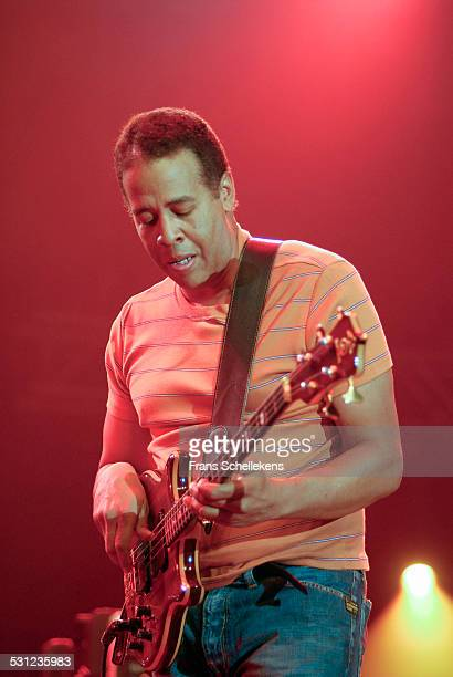 Stanley Clarke, bass, performs at the North Sea Jazz Festival in Ahoy on July 14th 2006 in Rotterdam, Netherlands.