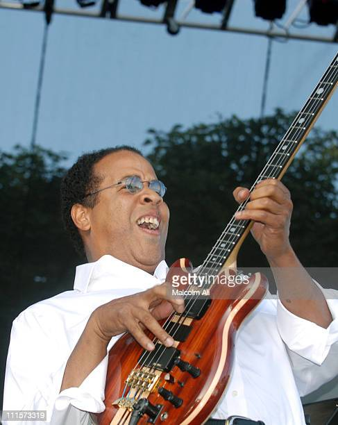 Stanley Clarke during 19th Annual Long Beach Jazz Festival at Rainbow Lagoon Park in Long Beach, California, United States.