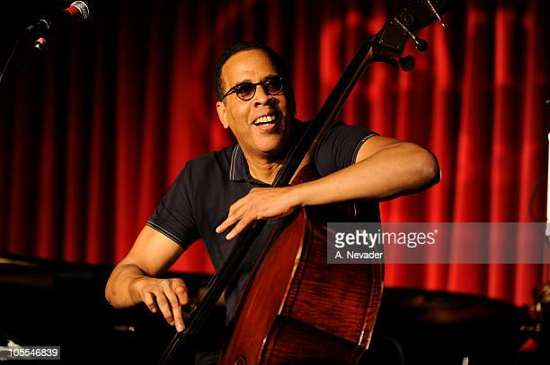 Stanley Clarke performs at the Catalina Bar & Grill on October 14, 2010 in Hollywood, California.