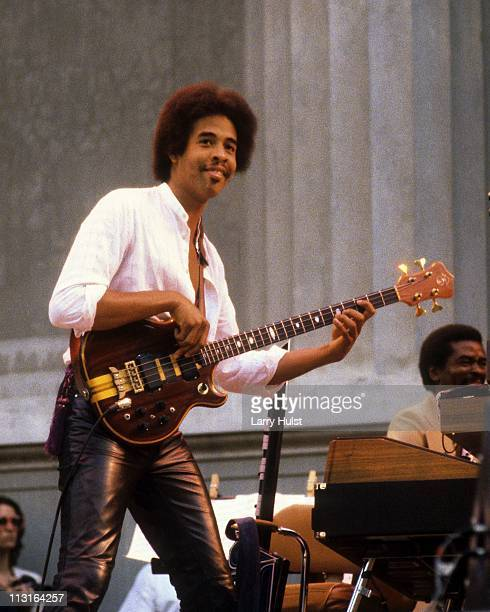 May 22: Stanley Clarke performs at the Greek Theater in Berkeley, California on May 22, 1980.