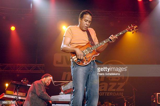 Stanley Clarke performs live on stage at the North Sea Jazz Festival in Rotterdam, Holland on July 16 2006