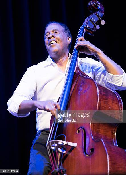 Stanley Clarke performs on stage at Halic Congress Center for the 21st Istanbul Jazz Festival organized by IKSV on July 8, 2014 in Istanbul, Turkey.