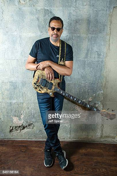 Stanley Clarke poses for a portrait at The Jazz Cafe on July 4, 2016 in London, England.