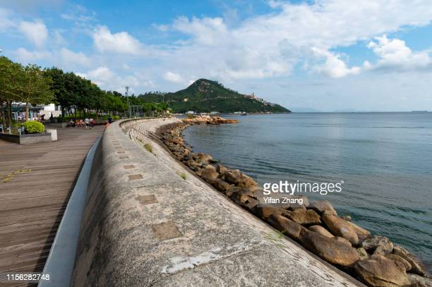 stanley coastal town in hong kong island - hong kong stock pictures, royalty-free photos & images