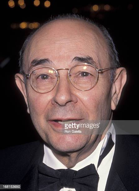 Stanley Donen attends 49th Annual American Cinema Editors Awards on March 13 1999 at the Beverly Hilton Hotel in Beverly Hills California