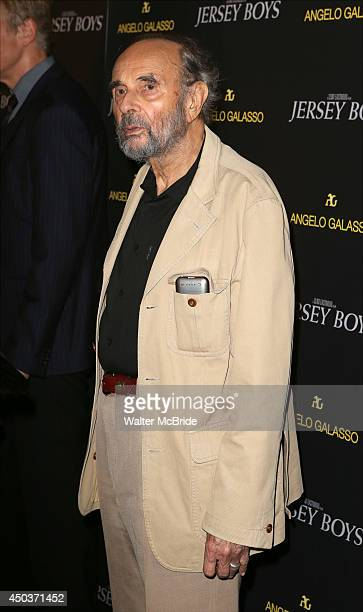 Stanley Donen attends a special New York screening reception for 'Jersey Boys' hosted by Angelo Galasso at Angelo Galasso on June 2014 in New York...