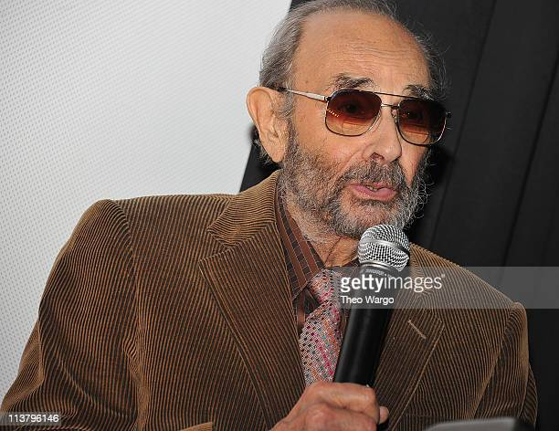 Stanley Donen attends the 25th Israel Film Festival Awards Presentation at The Paris Theatre on May 5 2011 in New York City