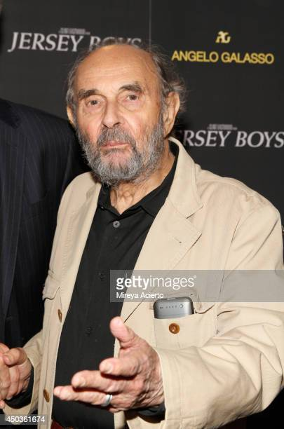Stanley Donen attends the Jersey Boys Special Screening dinner at Angelo Galasso House on June 9 2014 in New York City
