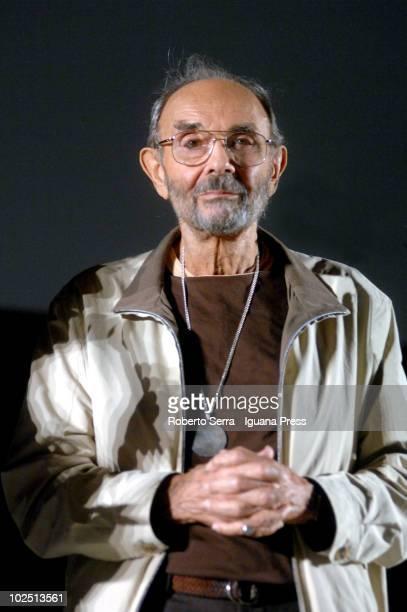 Stanley Donen meets the audience at Maggiore square to viewing his film Singin' in the Rain for Cinema Ritrovato festival on June 28 2010 in Bologna...