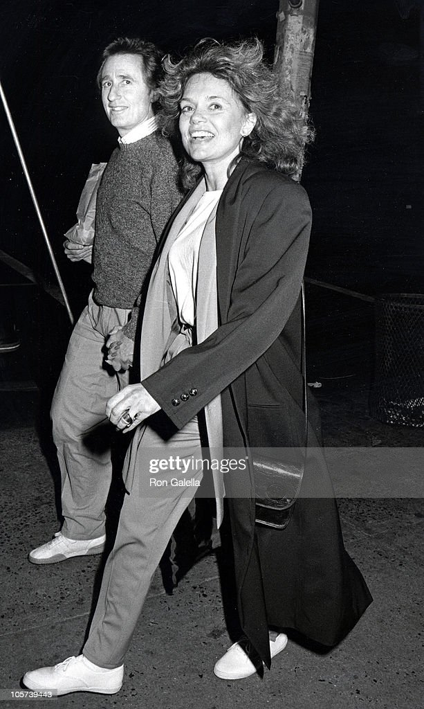 Dyan Cannon Sighting at the Columbus Cafe in New York City - October 5, 1986 : News Photo