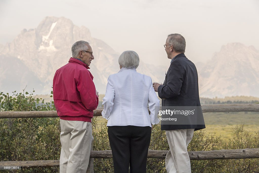 Federal Reserve Jackson Hole Economic Symposium : News Photo