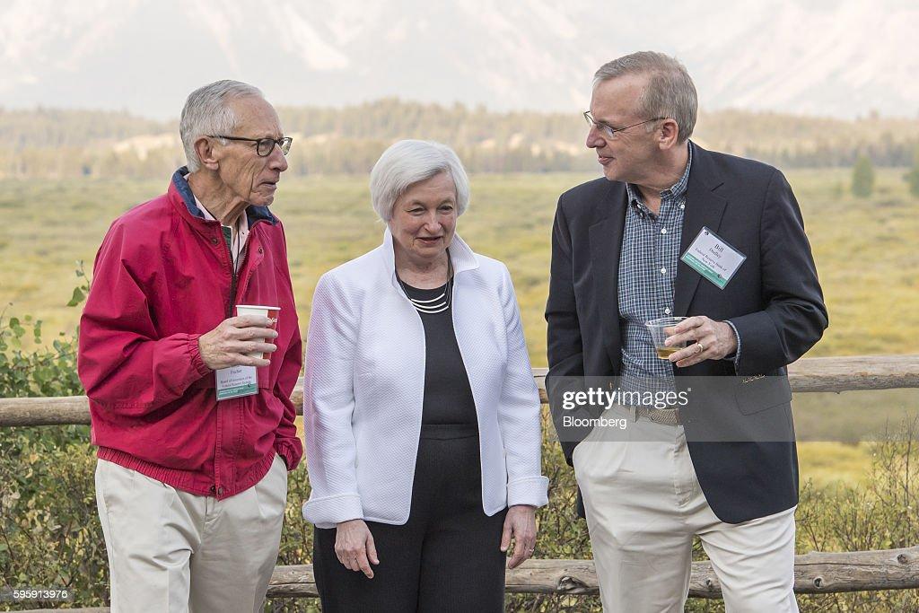 Federal Reserve Jackson Hole Economic Symposium : News Photo