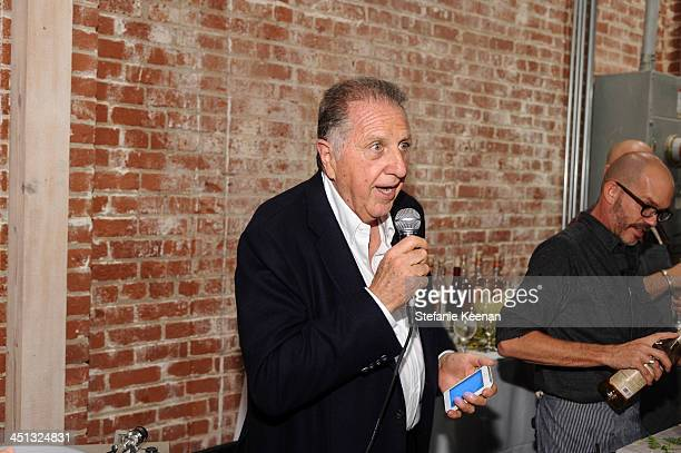 Stanley Hollander attends The Rema Hort Mann Foundation LA Artist Initiative Benefit Auction on November 21 2013 in Los Angeles California