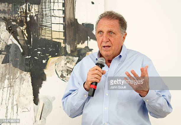 Stanley Hollander attends the Rema Hort Mann Foundation conversation with Susan and Michael Hort on September 28 2013 in Los Angeles California