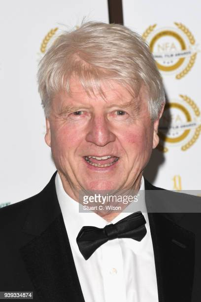 Stanley Johnson attends the National Film Awards UK at Porchester Hall on March 28 2018 in London England