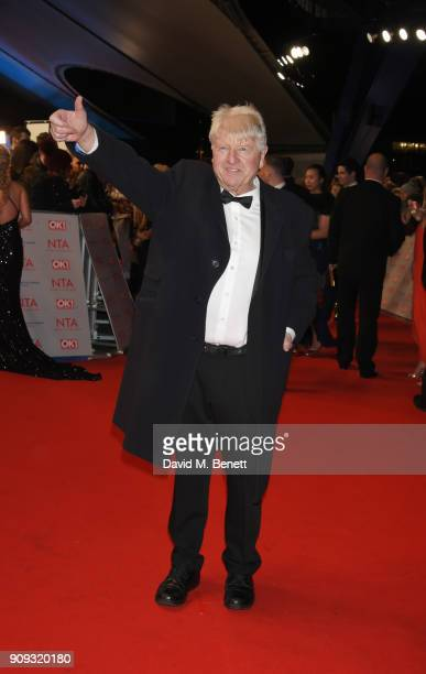 Stanley Johnson attends the National Television Awards 2018 at The O2 Arena on January 23 2018 in London England