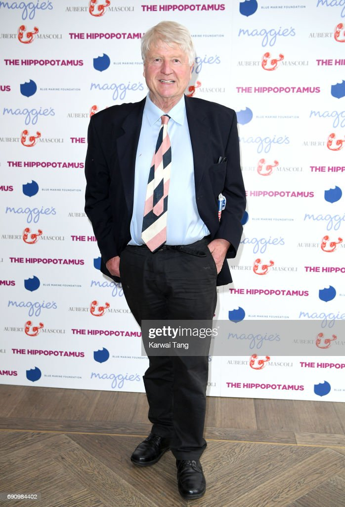 Stanley Johnson attends the UK gala screening of The Hippopotamus at The Mayfair Hotel on May 31, 2017 in London, England.