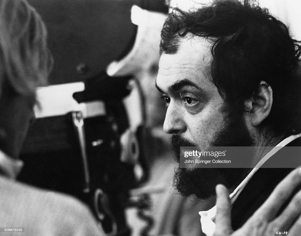 Stanley Kubrick on the set of A Clockwork Orange. The 1971 film tells the story of a violent gang member who goes through aversion therapy.
